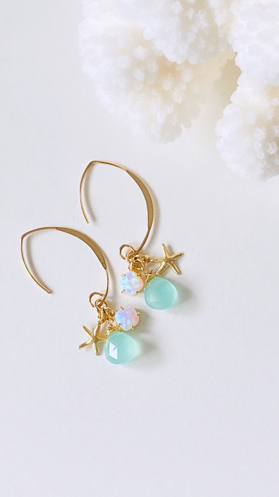 Waimea D-earrings