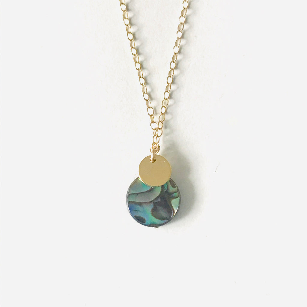 ECLIPSE Abalone necklace