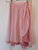 "Double Layered Chiffon Skirt ""Pink and Rose"""