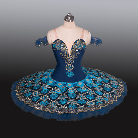 Blue Arabesque