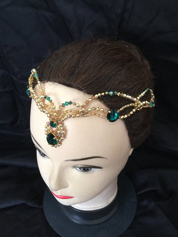 Esmerald Headpiece
