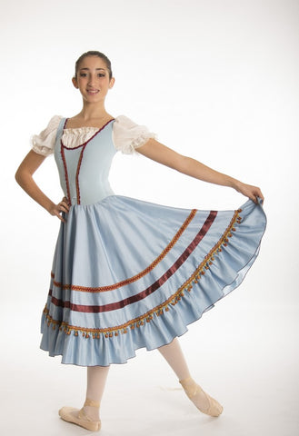 Coppelia Peasant Dress