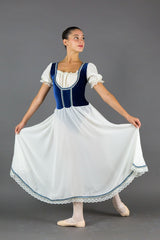 Peasant Blue Costume - Dancewear by Patricia