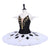 Black and White Harlequin - Dancewear by Patricia