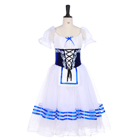 White and Blue Giselle