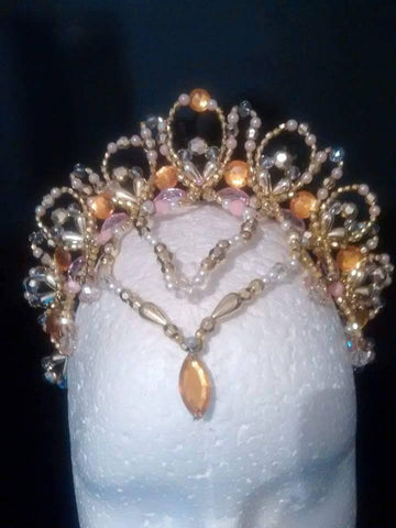The Golden Princess - Professional Headpiece