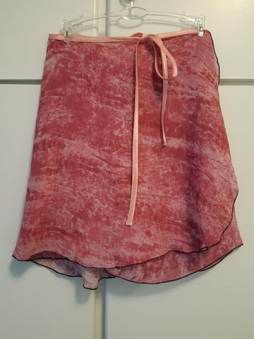 Carnation Pink Wrap Skirt