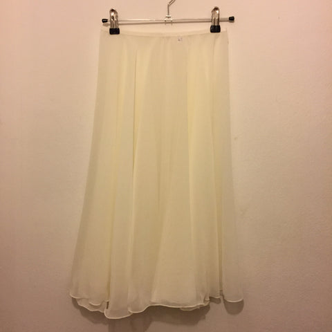 Circle Rehearsal Skirt Clotted Cream