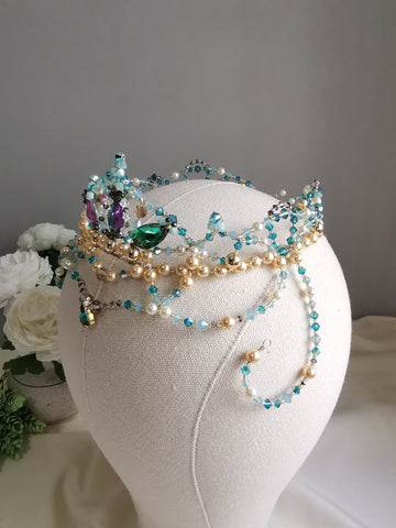 Royal Esmeralda Tiara