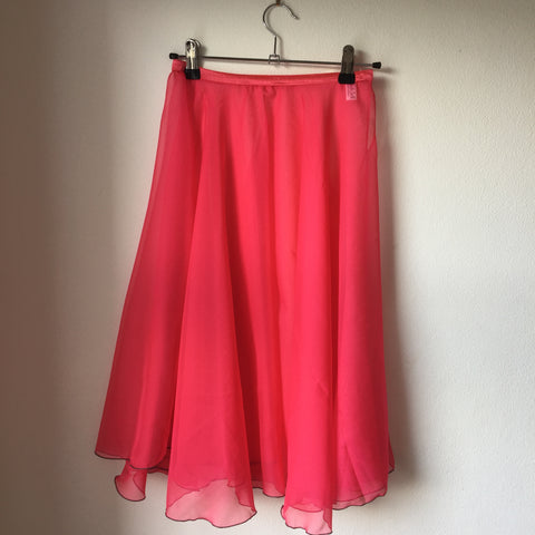Circle Rehearsal Skirt Deep Pink