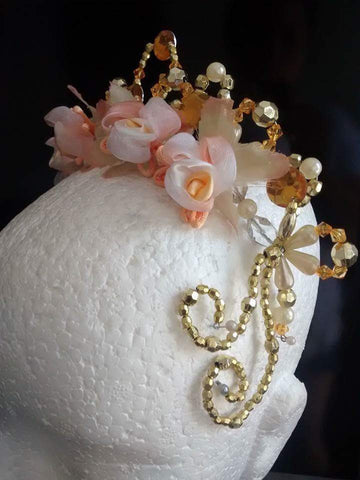 Fairy of the Peach Trees Headpiece