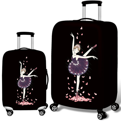 "Suitcase Cover ""Dancer"""