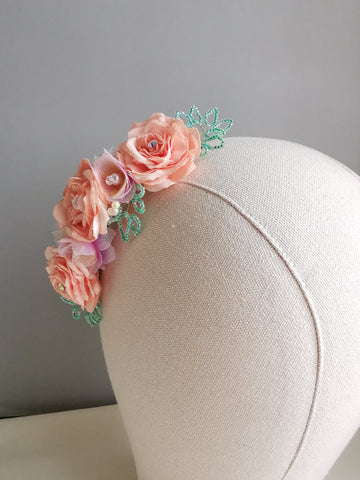 Giselle Flower Headpiece