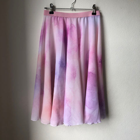 Watercolor Rehearsal Skirt Kanso