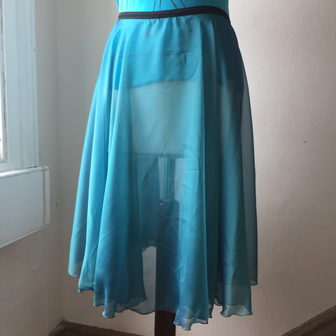Circle Rehearsal Skirt Kingfisher