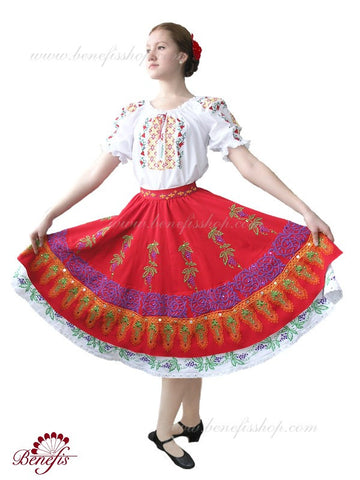 Moldavian National Costume with Sequins - Adult - J 0005