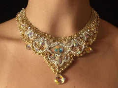 "Swarovski Necklace ""Princess Alexia"" - Dancewear by Patricia"