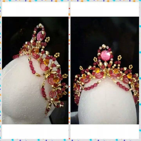 Princess Rose Headpiece