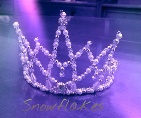 Snow Flake Tiara