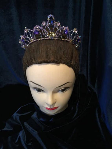 Lilac Medora Headpiece