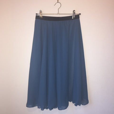 Circle Rehearsal Skirt Teal