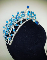 Blue Bird Professional Head Piece - Dancewear by Patricia