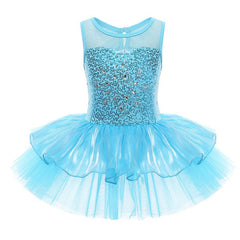 Blue Glitter - Dancewear by Patricia