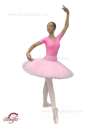 Professional Bell-shaped Basic Tutu with Hoops - T-0002
