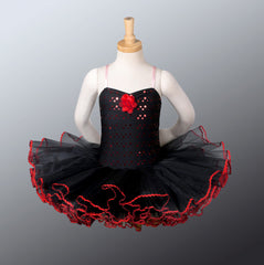 Black Flower - Dancewear by Patricia