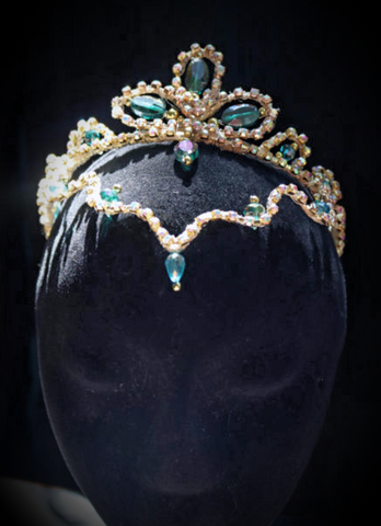 Blue Odalisque Headpiece