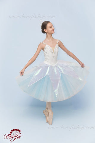 Snow Flake Stage Ballet Costume F0340