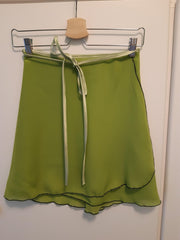 Pistachio Green Wrap Skirt - Dancewear by Patricia