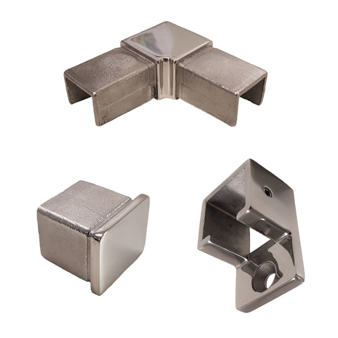 25x21mm Slotted Fittings