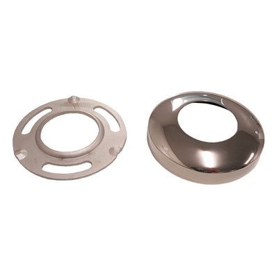 50.8mm Round - Base Plate W/Cover - Stainless Steel Products,  - Stainless Steel, CMW Fittings - James Glen, [Shop_Name] - Stainless Steel Products