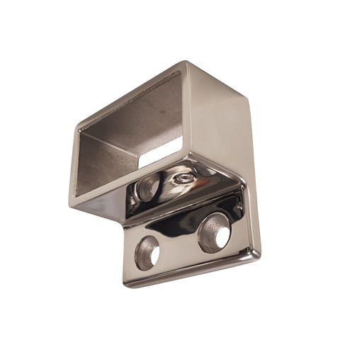 50x25mm - Wall Flange - Stainless Steel Products