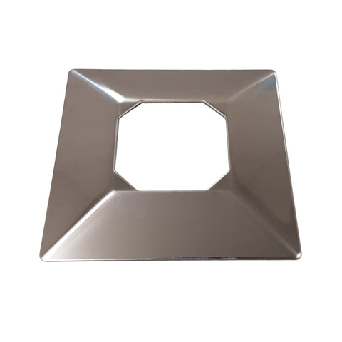 Square Spigots - Core Drill Covers - Stainless Steel Products