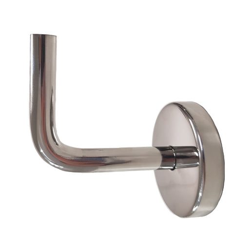 Handrail Bracket - Wallmount - Solid Bar - Stainless Steel Products,  - Stainless Steel, CMW Fittings - James Glen, [Shop_Name] - Stainless Steel Products