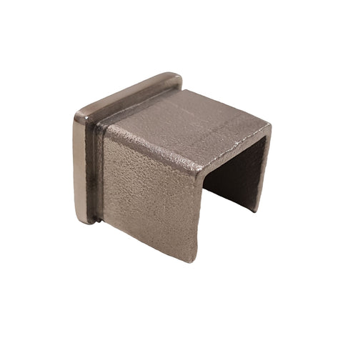 Slotted 21x25x14 - End Cap - Stainless Steel Products