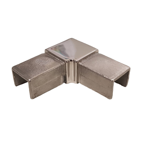 Slotted 21x25x14 - 90° Elbow - Stainless Steel Products