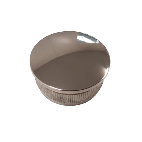 38.1mm Round - End Cap - Stainless Steel Products