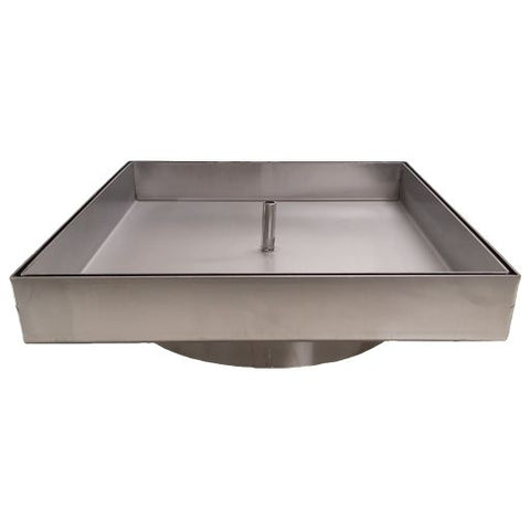 Hidden Skimmer Lid - Stainless Steel Products