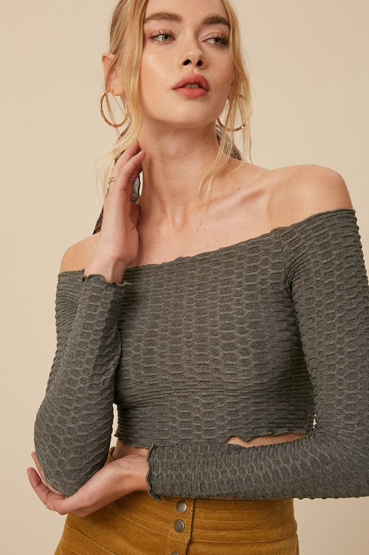 Emmy Embossed Top