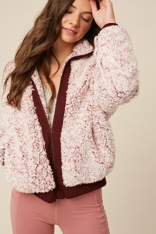 Nora Faux Fur Two Toned Jacket