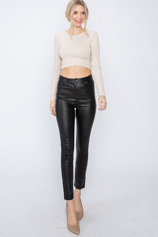 Stella Faux Leather Pants