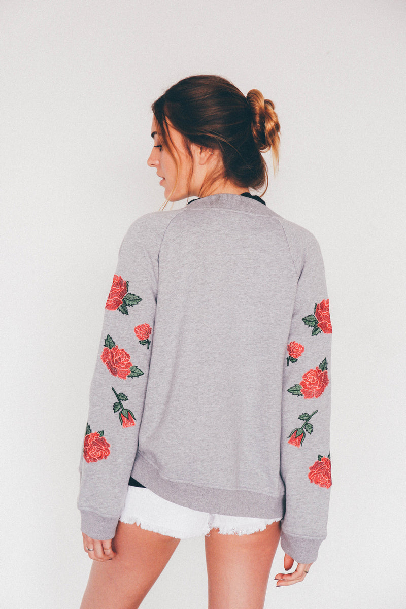 Valentines Rose Bomber, - Wildest Dreams