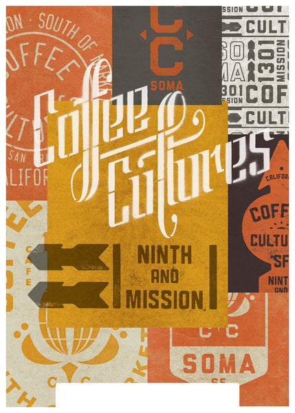 Coffee Cultures - A-Frame Sign