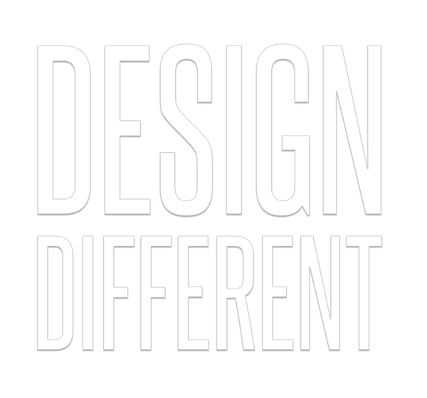 Design Different - Letters Only
