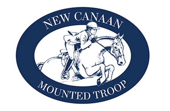 New Canaan Mounted Troop - Full logo