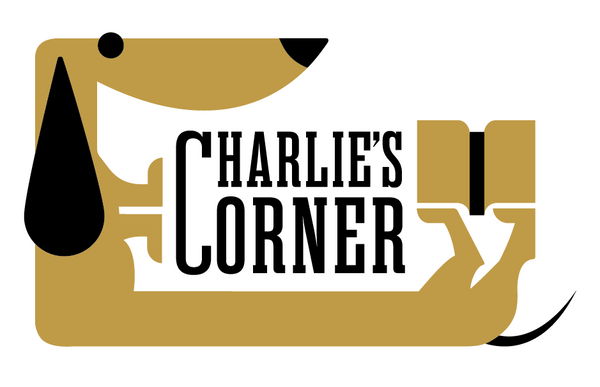 Charlie's Corner - Replacement Header for A-Frame Sign