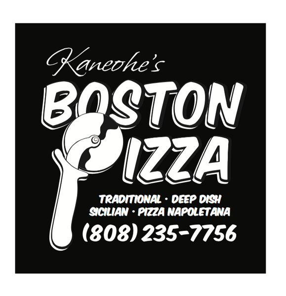 Kaneohe's Boston Pizza - Etched